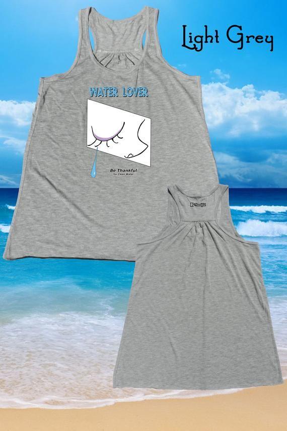 485ce9c2848bf Water lover water girl women tank tops graphic tank beach tank surf shirt surf  tank surfer
