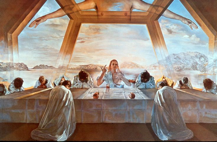 dali-sacrament-of-the-last-supper-1955 - Visit to grab an amazing super hero shirt now on sale!