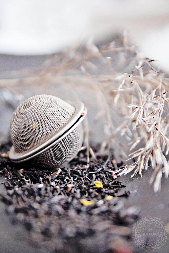 Please don't use a tiny tea ball to brew loose leaf tea! There is not enough room inside for the tea to expand and infuse the full flavor!