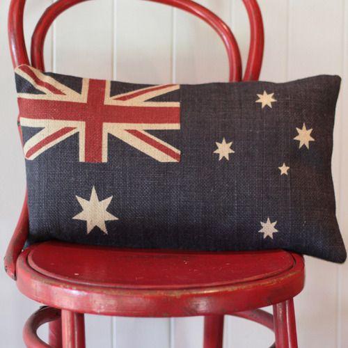 Australian Flag Throw Cushions