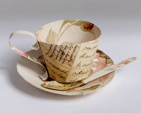 Paper artist Jennifer Collier