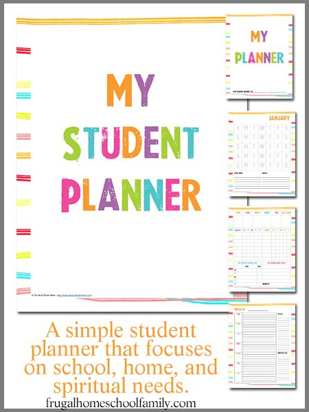 big sale  student planners  7 themes to choose from