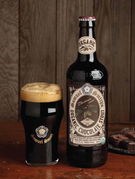 Check. Samuel Smith Organic Chocolate Stout Milk Stout 5.0% ABV