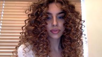 TUTORIAL: LEE STAFFORD CHOPSTICK STYLER// Big, bouncy, beautiful, natural curls - YouTube