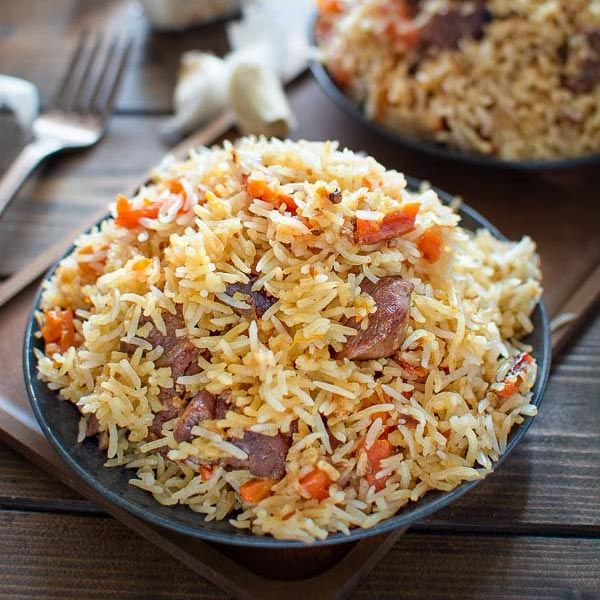 This Is A Classic Recipe For A Loved By Everyone Uzbek Plov Also Called Pilaf My Simple Photo