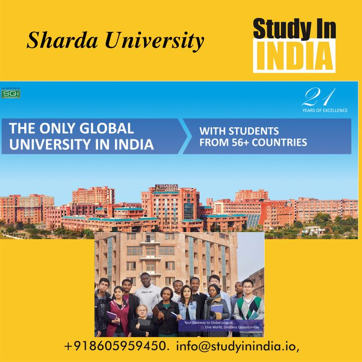 #study in one of the premium #university of India near #Delhi #shardauniversity. It's truly #internationaluniversity with students from more than 56 countries studying in it