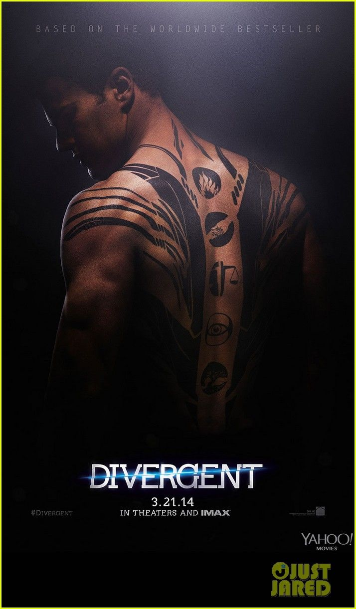 Shailene Woodley & Theo James: New 'Divergent' Posters! | shailene woodley theo james new divergent posters 02 - Photo