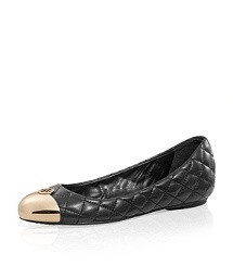 Quilted Leather Kaitlin Ballet Flat: Ballet Flat