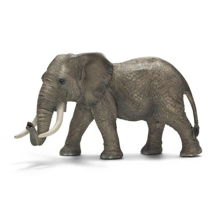 ___African Elephant, male____ Schleich Figurine available at Fantaztic Learning Store Canada - shop.fantazticcatalog.com