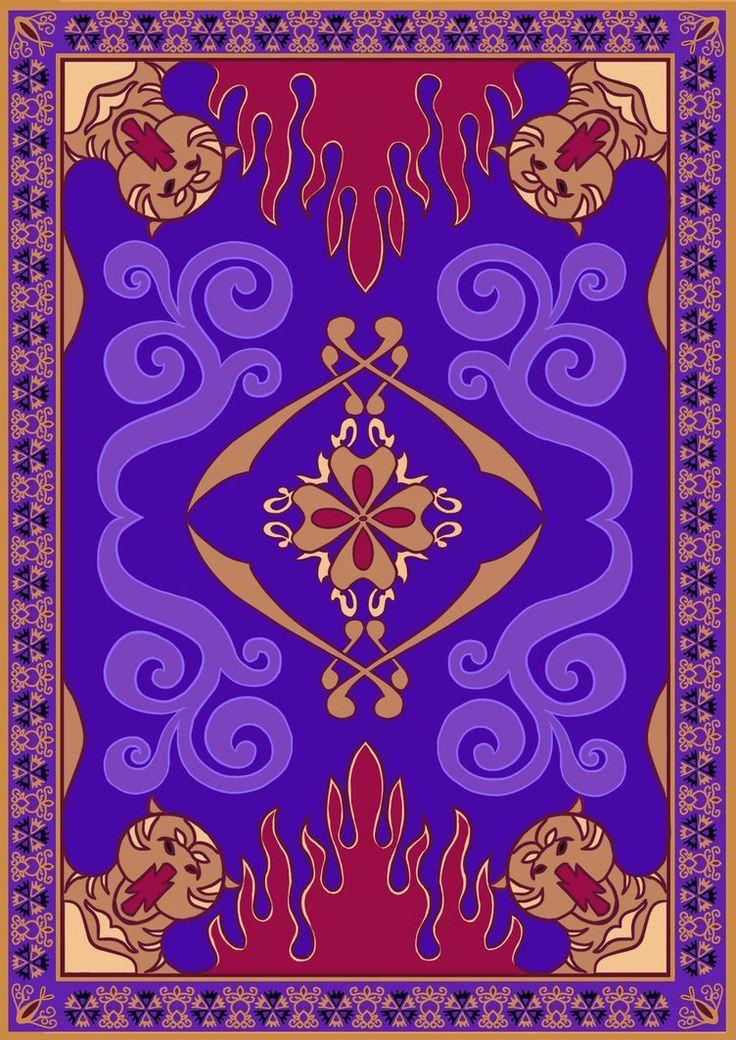 Aladdin S Magic Carpet Magic Carpets Zauberteppich Anime Tapete Disney Kunst