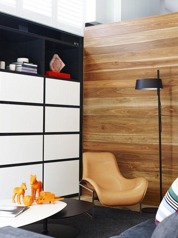 wooden wall!: Mim Design, Living Room, Black Interiors Design, Wooden Wall, Black Interior Design, Woods Wall, Art Deco, Black Wall, Accent Wall