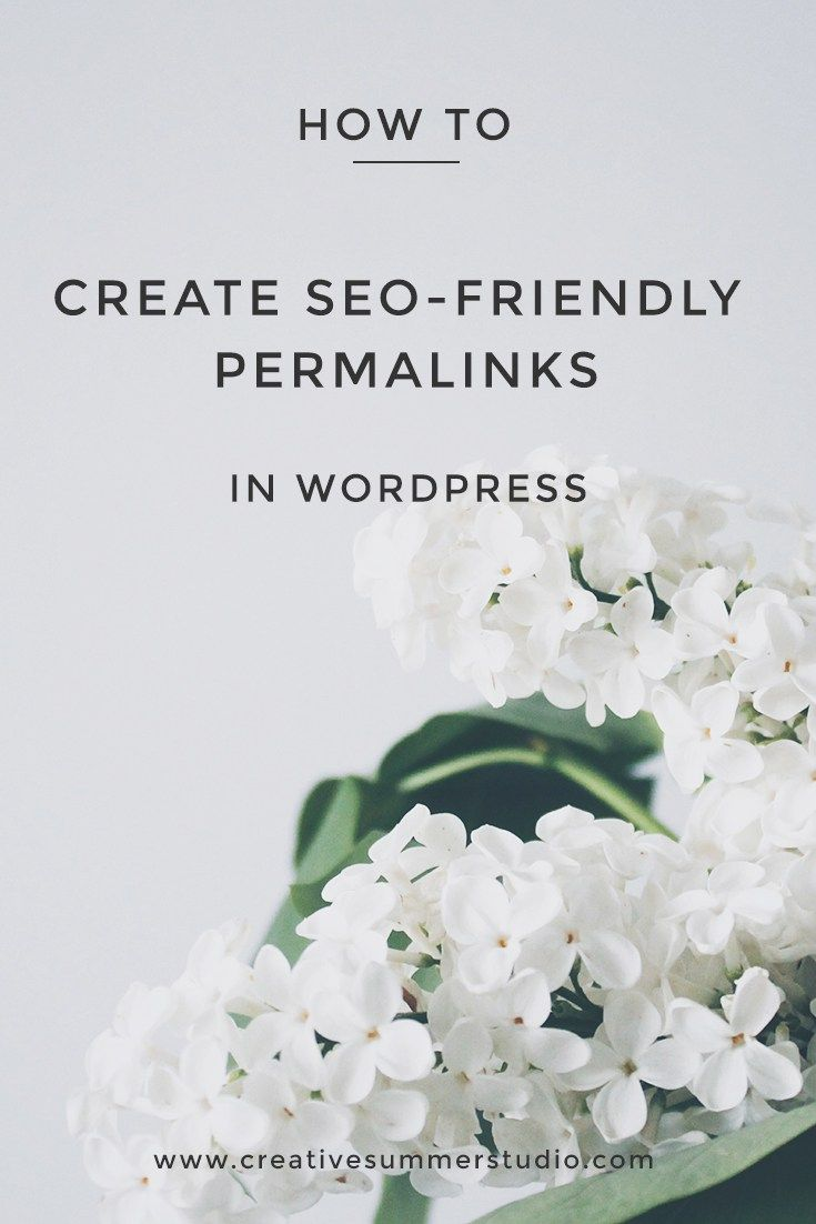 Are you a new blogger which is afraid that no one will see his/her blog on the internet? Do you know what are the permalinks in WordPress? Learn how to make your blog posts URLs SEO-friendly and how to create custom permalinks in WordPress in this super simple tutorial. Click here to read the entire article and repin this to save it for later.