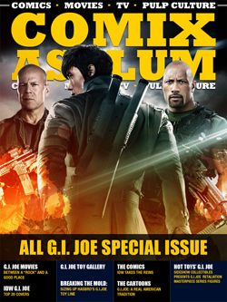 The cover to our all G.I. Joe special issue. April 2013