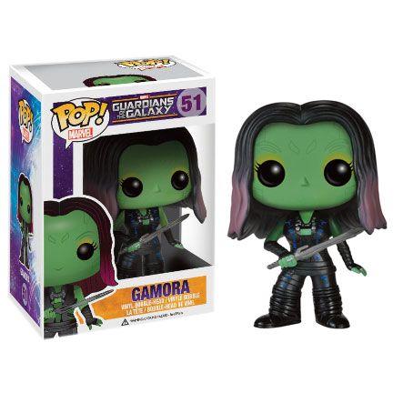 Guardians Of The Galaxy Pop! Vinyl Figure - Gamora : Pre-order now at ForbiddenPlanet.co.uk