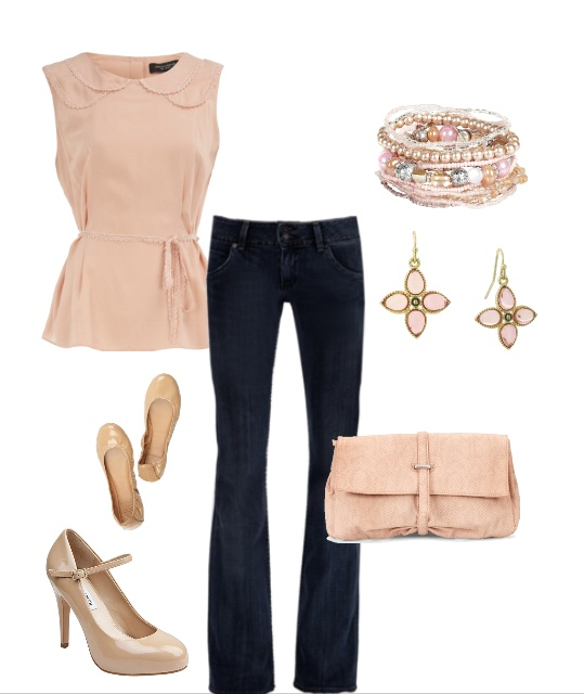 .: Pastel, Soft Colors, Cute Outfits, Pink Outfits, Spring Outfits, Nude Outfits