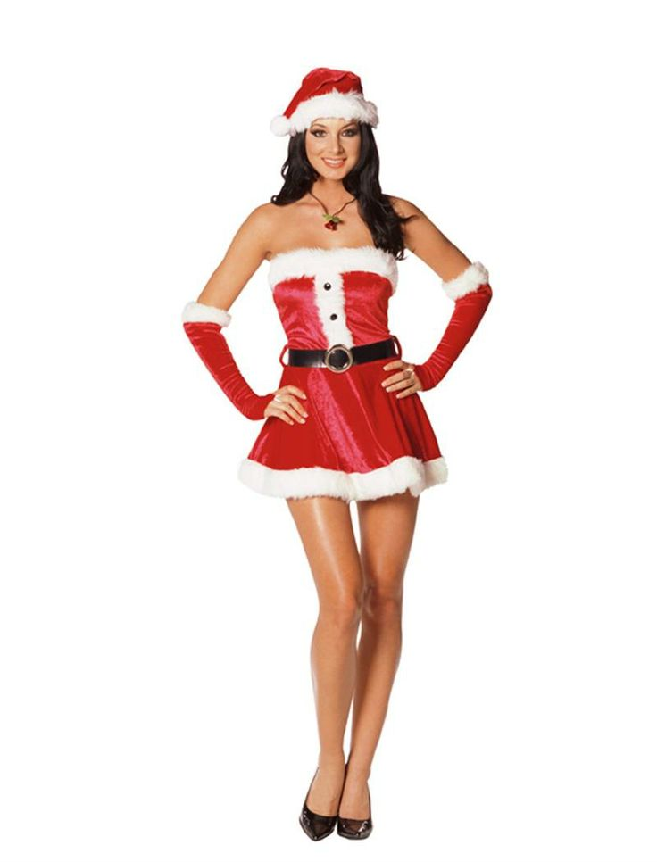 Santa's Sweetie Costume available at Teezerscostumes.com