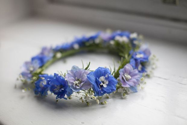 Cornflower Blues: Wedding Inspiration & Colour Ideas                                                                                                                                                                                 More