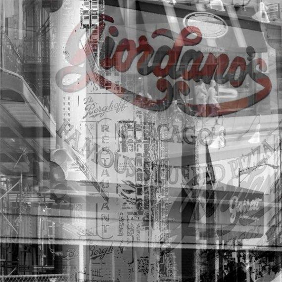 Giordanos - Chicago Canvas print Berghoff Garretts