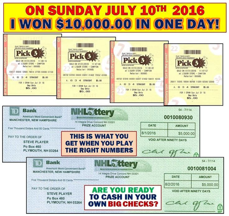 I have been winning the State Lottery games and helping others win their games since 1981. Take a look at my recent winning tickets and checks and let me show you how to win!