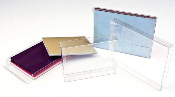4 1/2 x 1 x 5 7/8 Crystal Clear Boxes(10 pack) [FB17]