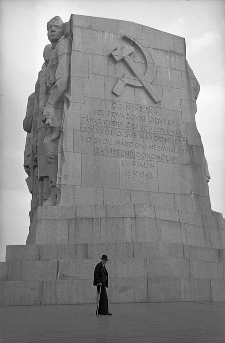Prague by Erich Lessing, Stalin's Monument, 1956