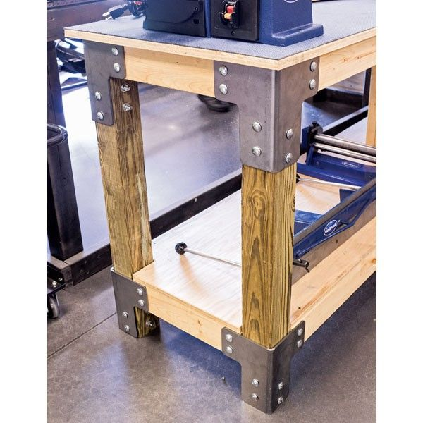 Do It Yourself Garage Workbench Plans: Could Be Interesting For An Industrial