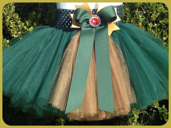 Brave Inspired Tutu with Bow by camyscloset on Etsy