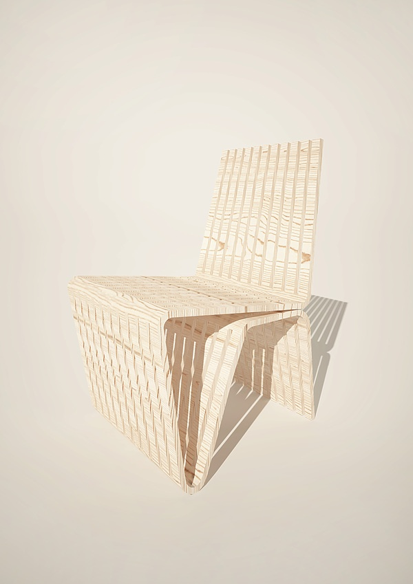 Wonderful Plywood Chair By Ketarbuzova Pictures Gallery