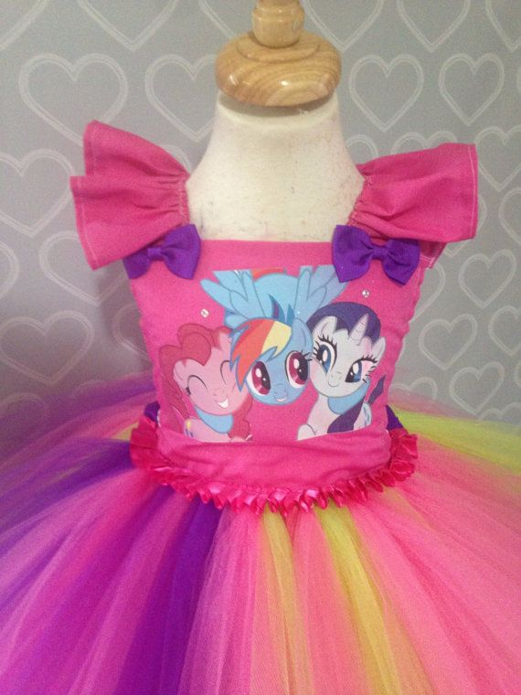 Mi pequeño pony vestido/mi pequeño pony pony/vestido tutu vestido/rareza tutu vestido/mi pequeño pony traje del tutú del