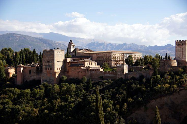 Alhambra, Granada, Spain - lilmissboho.com