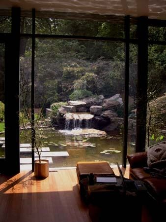 Living room with a relaxing view: Beautiful Photo, Living Rooms, Dreams Houses, Japan Rooms Design, Japan Bedrooms, Zen Bedrooms, Architecture With View, Relaxing View, Dreams Coming True