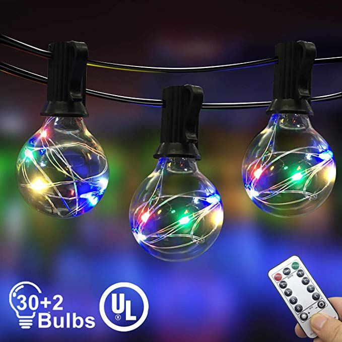 COOL WHITE LED ROPE LIGHTS on White Wire Holiday Christmas wedding NEW 15 FT