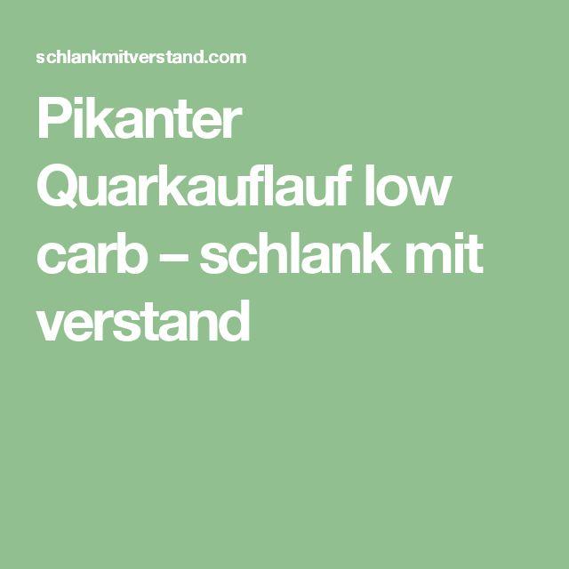 Pikanter Quarkauflauf low carb – schlank mit verstand