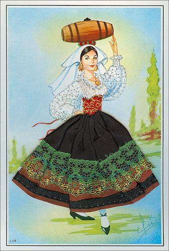 Costumi Regionali d'Italia - BASILICATA   #TuscanyAgriturismoGiratola