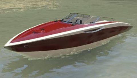 GTA 5 Boat Shitzu Squalo