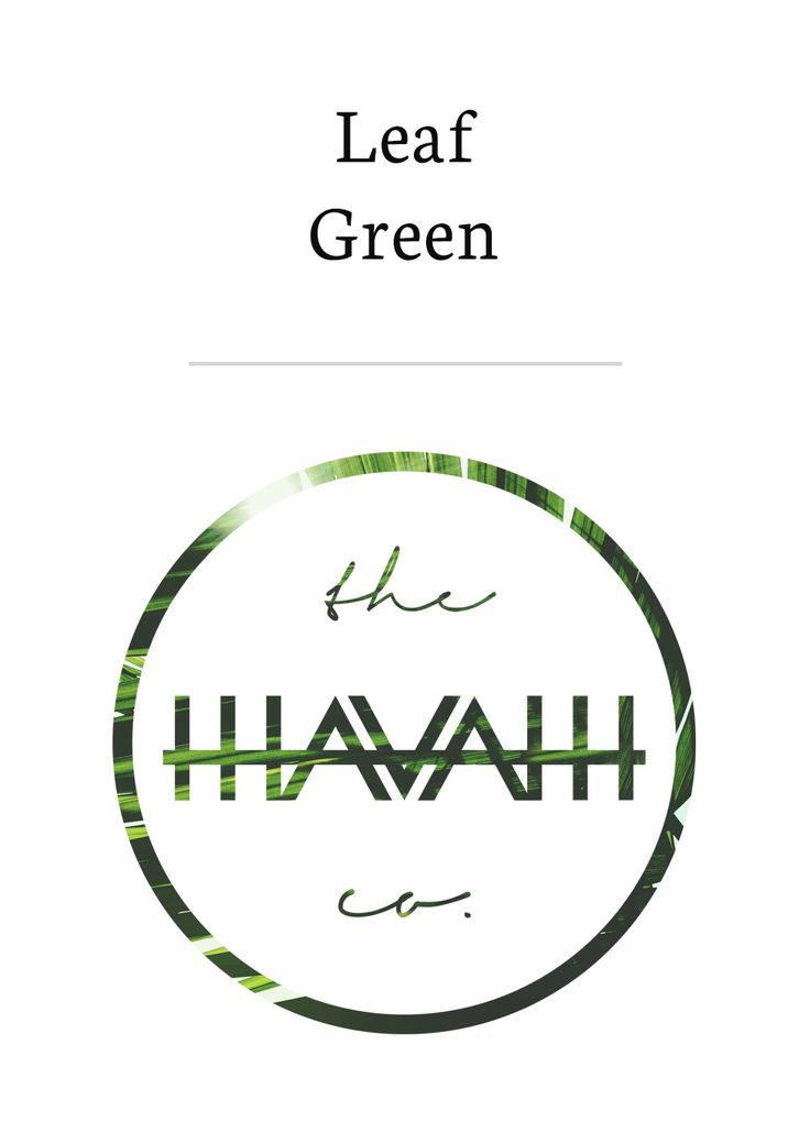 Our Leaf Green design; inspired by transparency in Durban, South Africa.