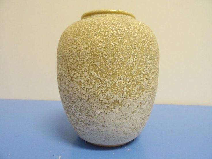 Albert Kiesling Langenhagen Vase Keramik  Studikeramik signiert 60er klasse