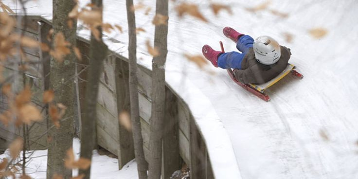 Former three-time U.S. Olympian opens public luge track for thrill seekers #travel #roadtrips #roadtrippers