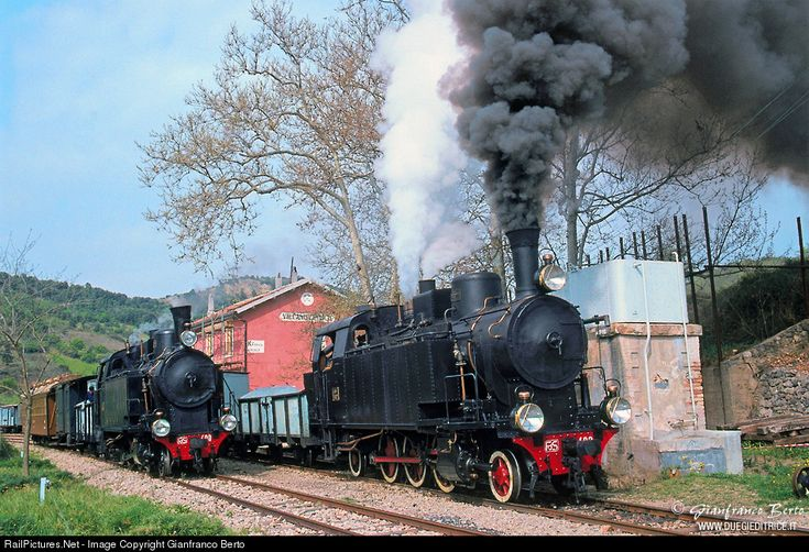 RailPictures.Net Photo: Ferrovie della Sardegna (FdS) Steam 2-6-2 at Villanovatulo, Italy by Gianfranco Berto
