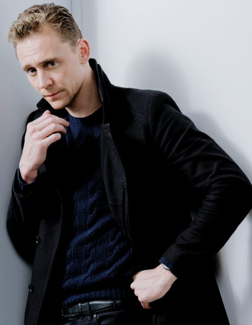 Tom Hiddleston photographed by Jeff Vespa in Toronto, Ontario