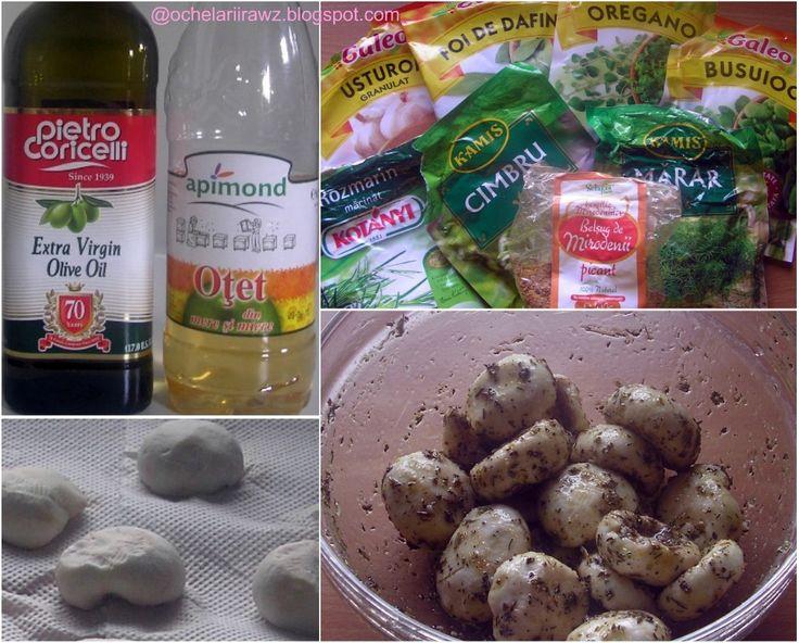 Ochelarii rawz: Ciuperci marinate 1