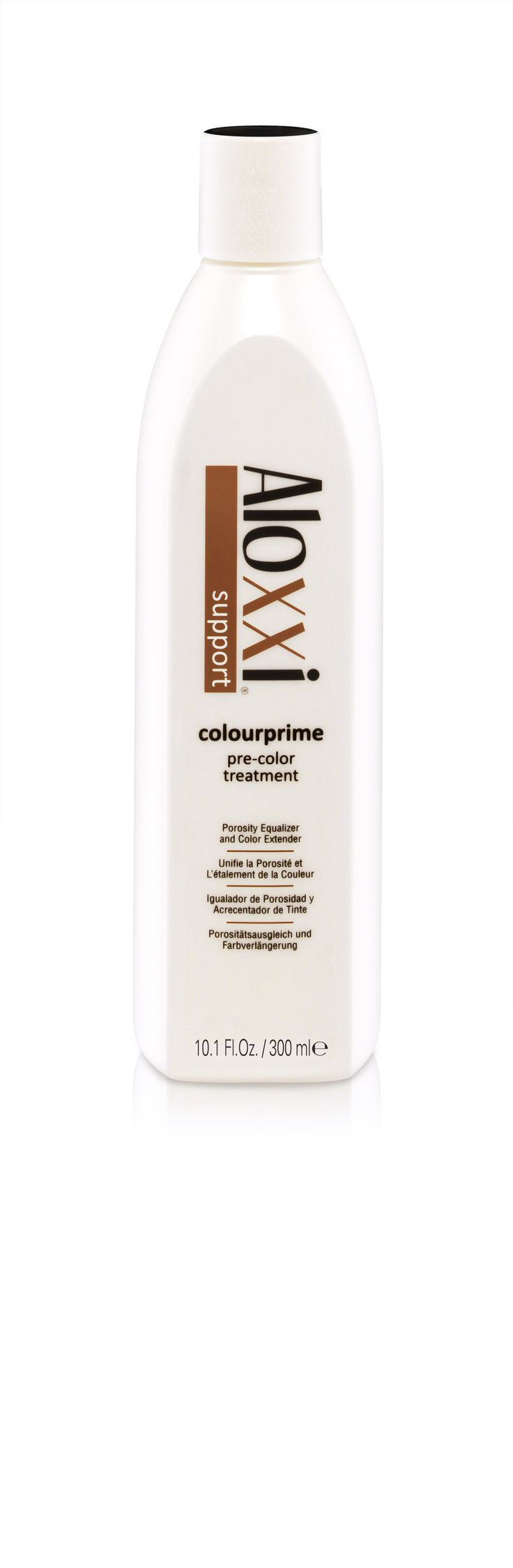 Aloxxi SUPPORT ColourPrime Pre-Colour Treatment. ColourPrime Pre-Color Treatment is a gentle herbal cleanser, scalp desensitizer, porosity equalizer and color extender all in one product. Using ColourPrime before a color service guarantees more even, longer-lasting results.  professional hair care | professional hair color | professional hair products