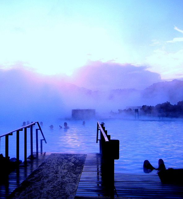 Blue Lagoon. In the land of fire and ice.