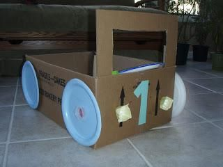 how to make a soap box car out of cardboard