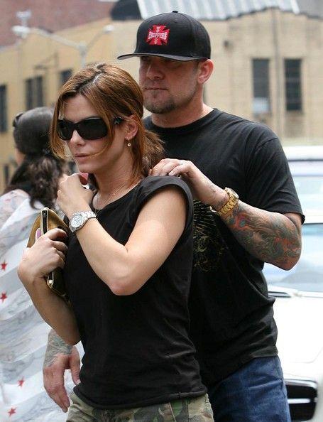 sandra bullock and jesse james   FILE PHOTOS***Sandra Bullock and Jesse James spent some time at ...