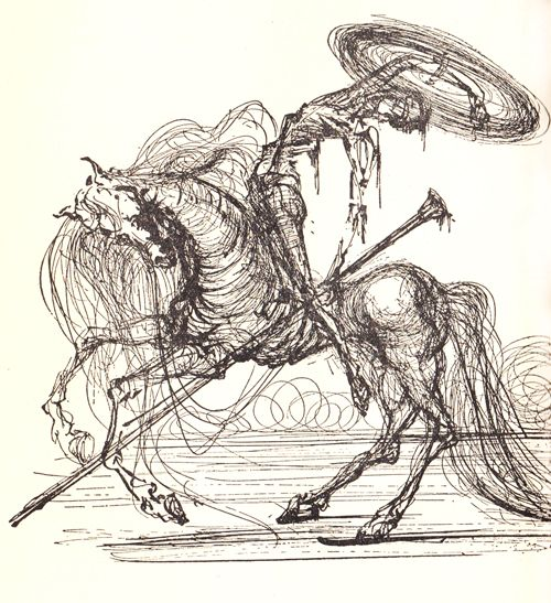 Some day.... a Dali illustrated version of Don Quijote.