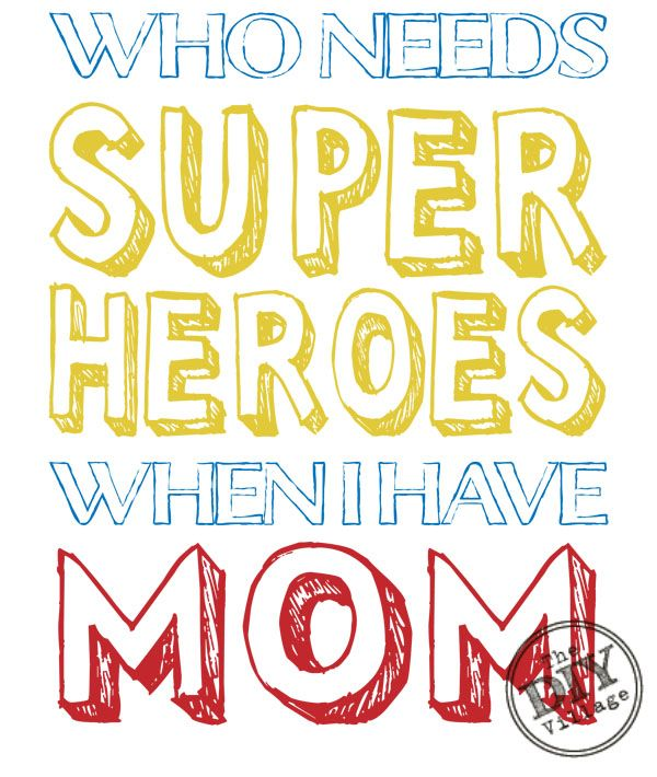 FREE mom quote printable #mothersday