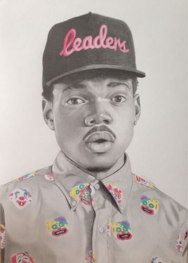 Chance The Rapper Rapper And Saatchi On Pinterest