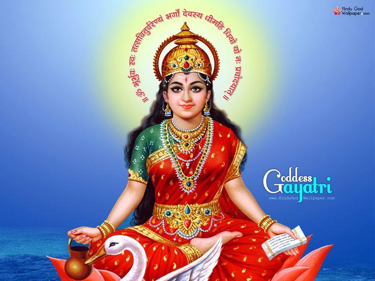 Gayatri Mata HD Wallpaper Free Download