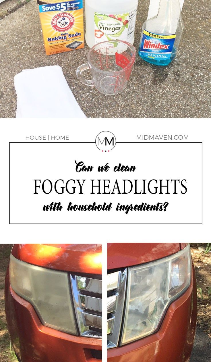 Lab: Can foggy headlights be cleaned with household ingredients? You betcha!